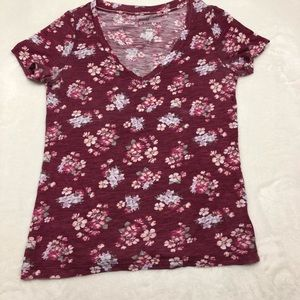 Prince & Fox Tops - T-shirt with pink floral print